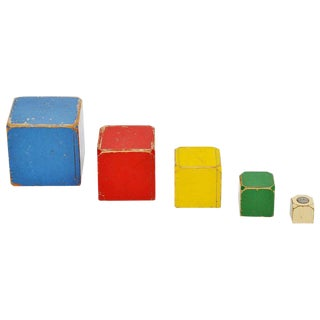 Set of 5 Ado Cubes Toys For Sale