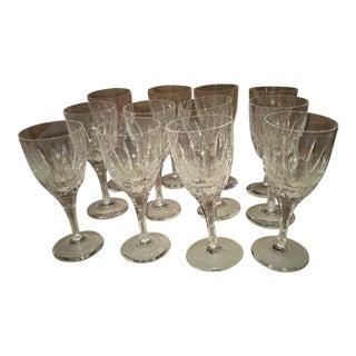Atlantis - Set of 12 White Wine Glasses For Sale