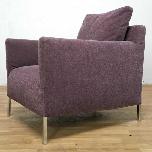 Purple Vintage Antonio Citterio for B&B Italia Solo Chairs - Set of 3 For Sale - Image 8 of 13