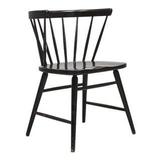 Vintage Ebbe Wigell 'Florida' Model N. 143 Scandinavian Black Chair For Sale