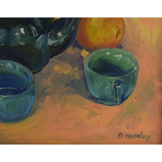 Tea & Oranges Still Life by Brigitte Woosley - Image 3 of 3