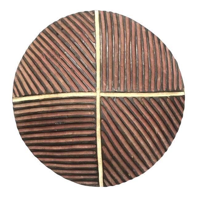African Art Tribal Art Zulu Round Shield