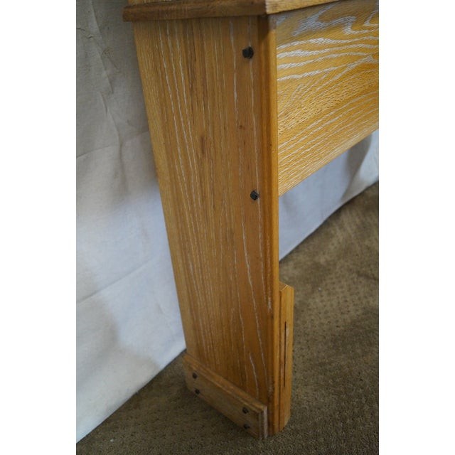 Brandt Ranch Oak Bookcase for Twin Size Headboard - Image 6 of 9