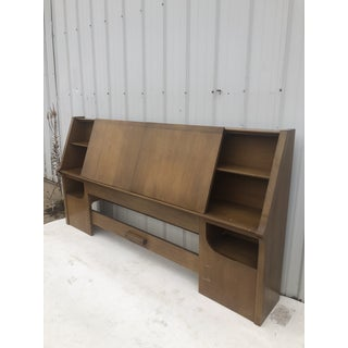 1960s Mid Century Modern Drexel King Headboard Preview