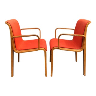 Pair of Mid-Century Bill Stephens for Knoll Arm Chairs