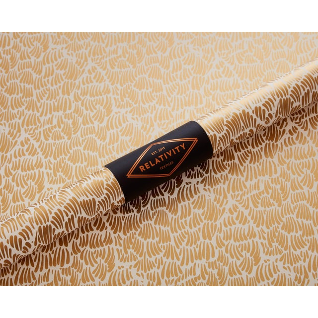Boho Chic Gaar Gold Wallpaper - 1 Double Roll For Sale - Image 3 of 5
