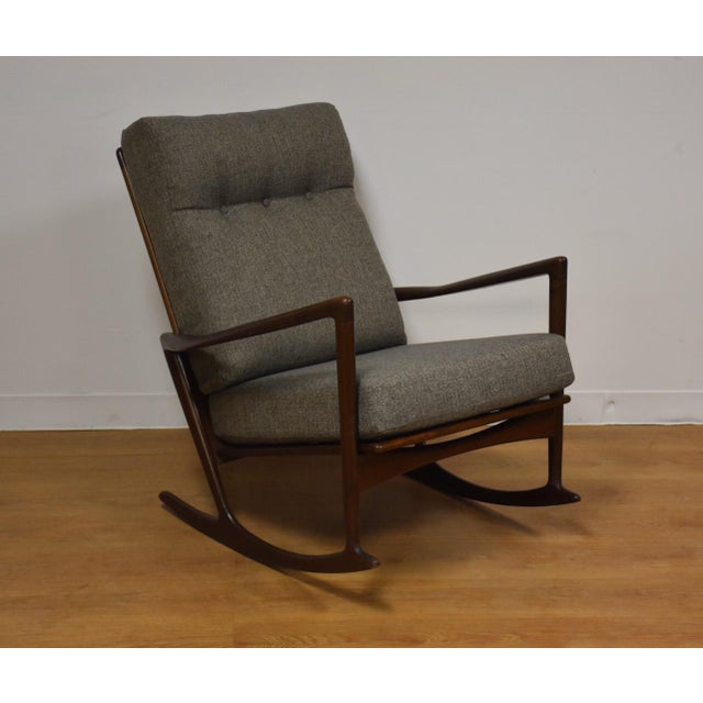 Ib Kofod Larsen for Selig Rocking Chair - Image 8 of 11