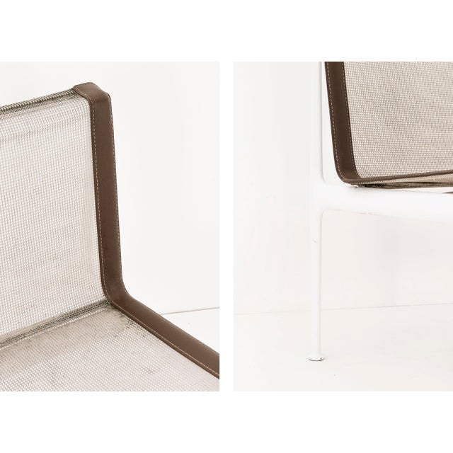 Set of Four Richard Schultz 1966 Dining Chairs For Sale In New York - Image 6 of 7