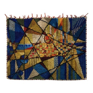 Kandinsky Style Abstract Tapestry For Sale