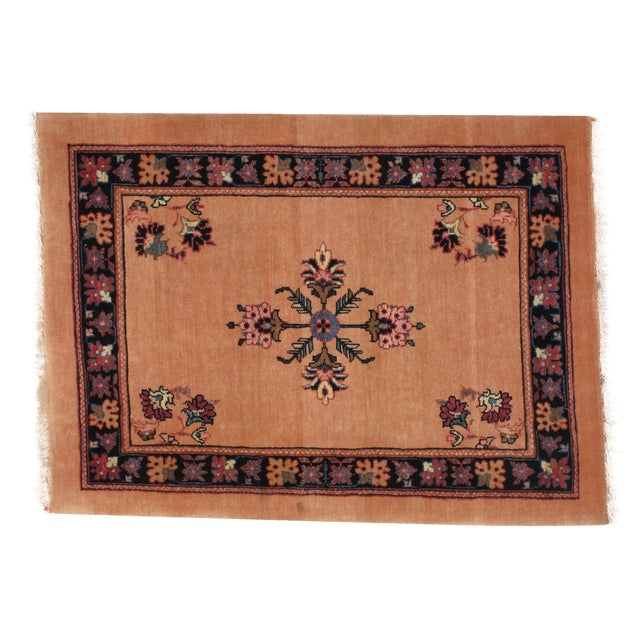 "Persian Bijar Wool Rug 2'3"" x 3'1"" - Image 1 of 4"