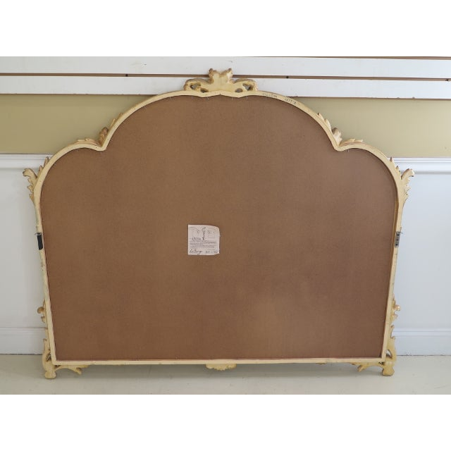 1990s Labarge Gold Gilt Mantle or Sideboard Horizontal Mirror For Sale - Image 9 of 12