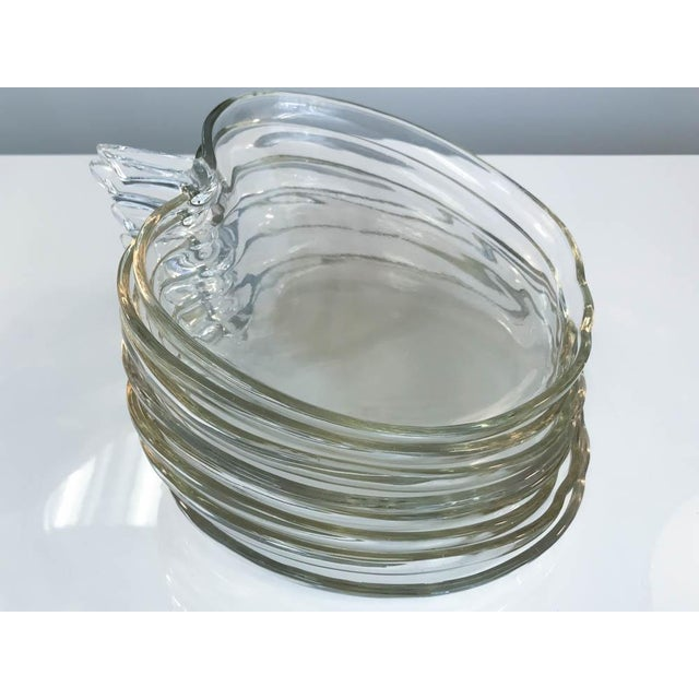 Glass Apple Shape Plates - Set of 8 - Image 5 of 7