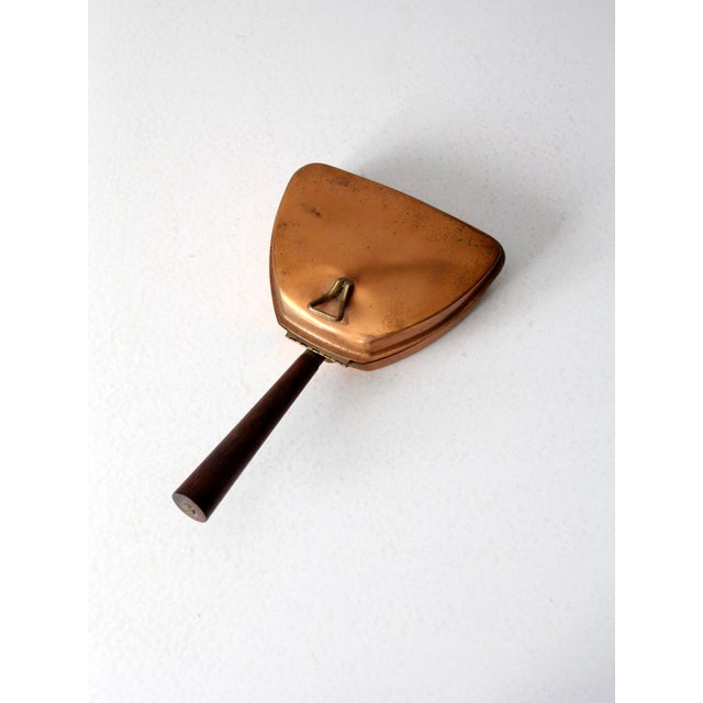 Brass Mid-Century Italian Copper Silent Butler For Sale - Image 7 of 11
