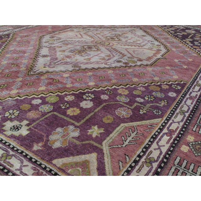 Early 20th Century Khotan Carpet For Sale - Image 5 of 10