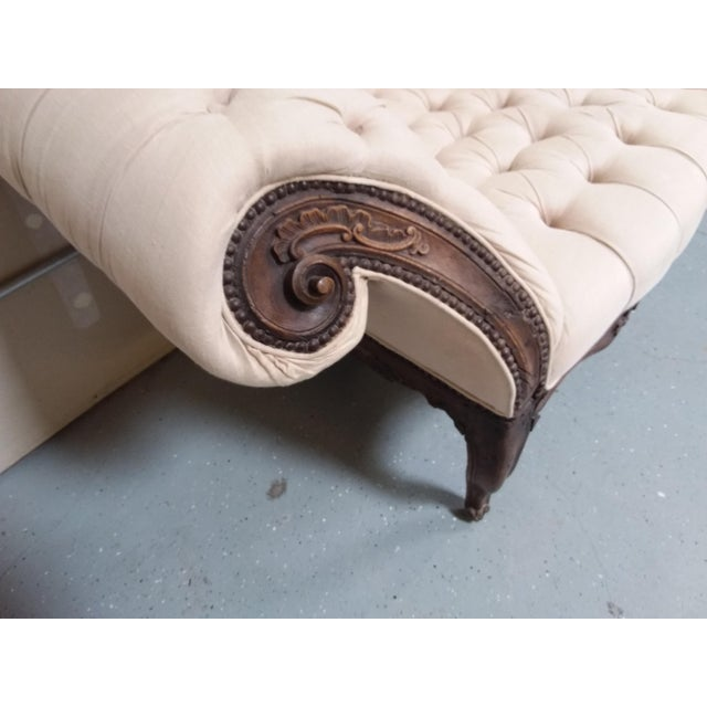 18th Century Walnut Piedmontese Sofa For Sale - Image 10 of 11