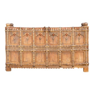 Magnificent 19th Century Dowry Chest For Sale