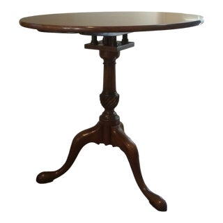 Kittinger Historic Newport Tilt Top Tea Table For Sale