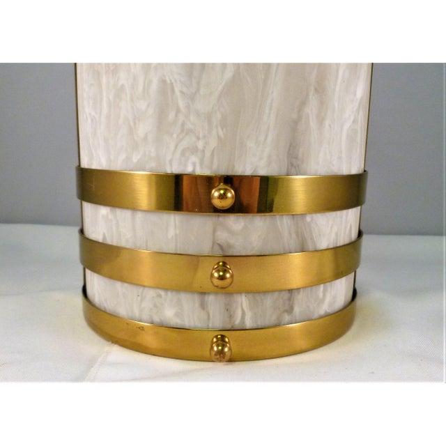 Modern 1990s Baldinger Architectural Lighting Half Cylinder Sconce For Sale - Image 3 of 8