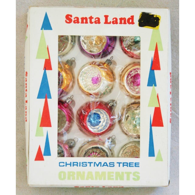 1950s Christmas Ornaments & Box - Set of 12 - Image 4 of 10