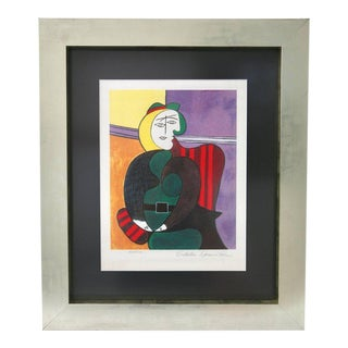 Pablo PIcasso Estate Signed Limited Edition Lithograph For Sale