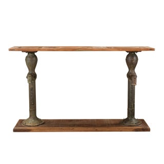 Nancy Rustic Wooden Console Table for Hallway/ Entryway For Sale