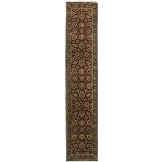 """RugsinDallas Persian Style Wool Runner - 2'6"""" X 12'5"""" For Sale"""