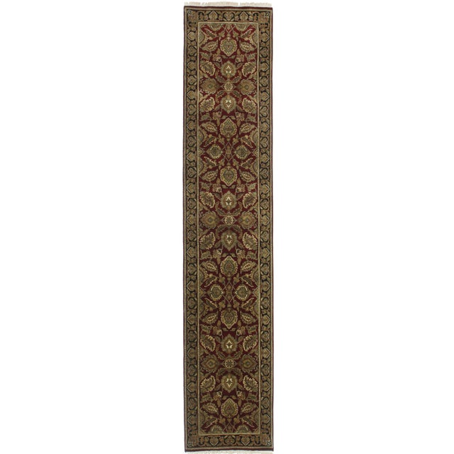 "Image of RugsinDallas Persian Style Wool Runner - 2'6"" X 12'5"""
