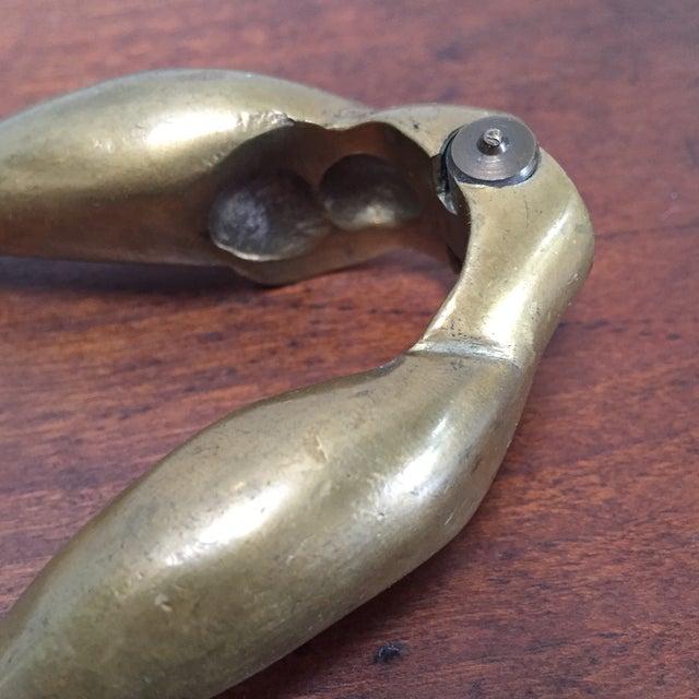 Vintage Brass Legs Nutcracker For Sale - Image 7 of 9