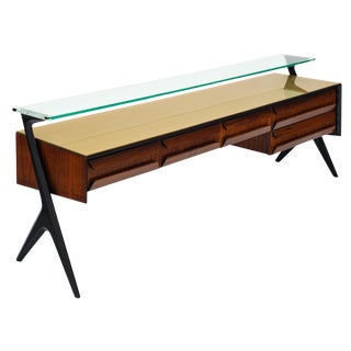 Italian Mid-Century Console Table For Sale