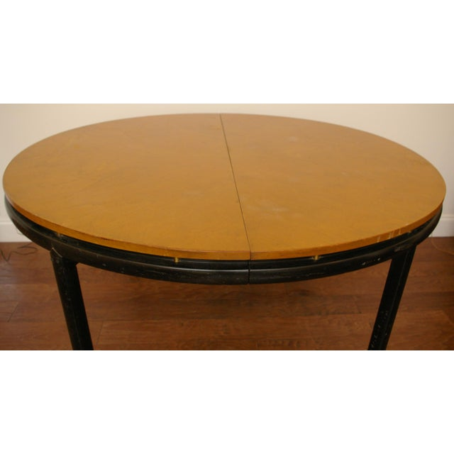 Contemporary Baker Furniture New World Group Floating Top Table For Sale - Image 3 of 6