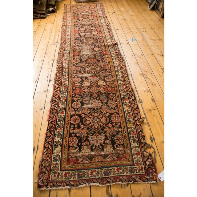 "Antique Distressed Rug Runner - 2'11"" X 12'8"" - Image 7 of 10"