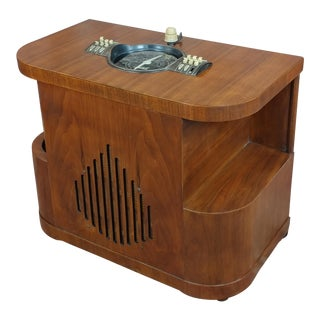 Zenith Vintage Art Deco Chairside Tube Radio