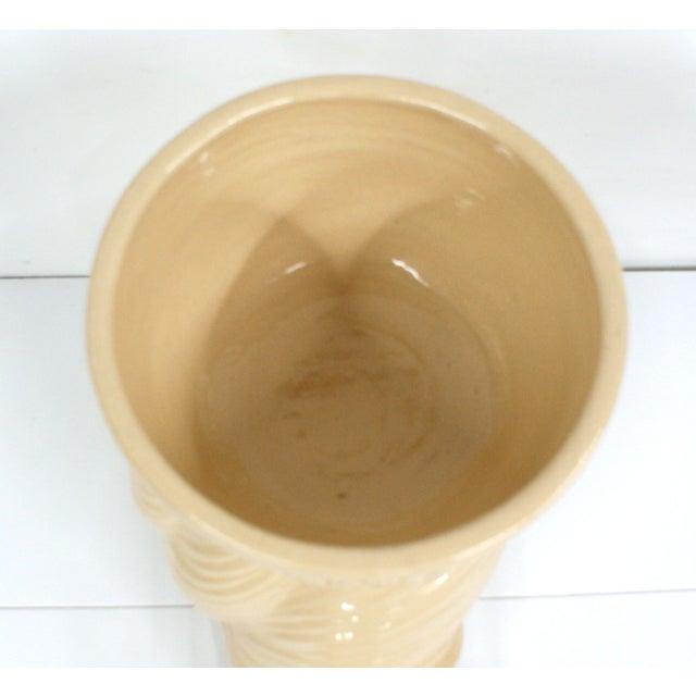 Vintage Beige Ceramic Garden Snail Planter - Image 3 of 3