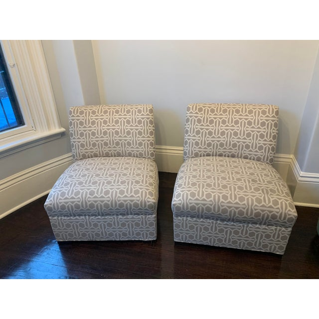 Modern Mitchell Gold Archer Chairs - A Pair For Sale - Image 11 of 12
