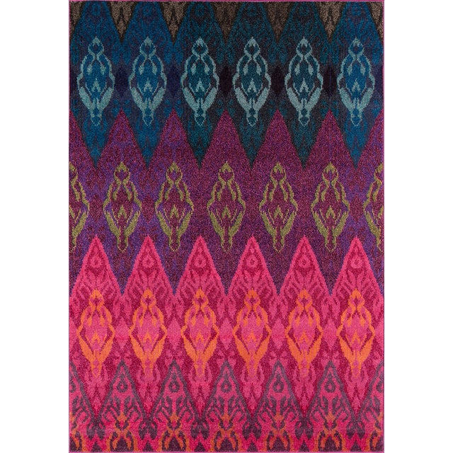 "Contemporary Momeni Casa Polypropylene Multi Area Rug - 7'10"" X 9'10"" For Sale In Atlanta - Image 6 of 6"