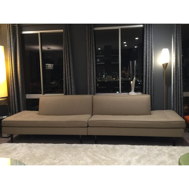Room & Board Mid-Century Style Sectional Sofa - Image 2 of 6