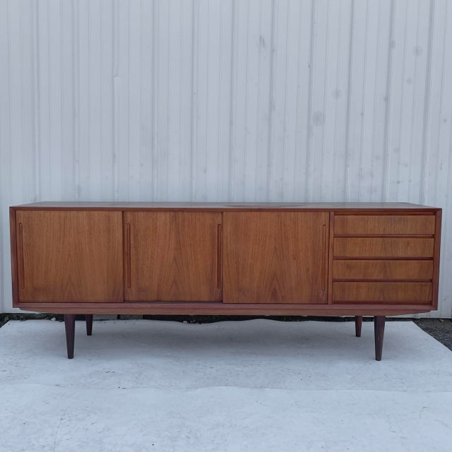 Mid-Century Modern Teak Sideboard Attr. Jens Quistgaard for Løvig For Sale - Image 13 of 13