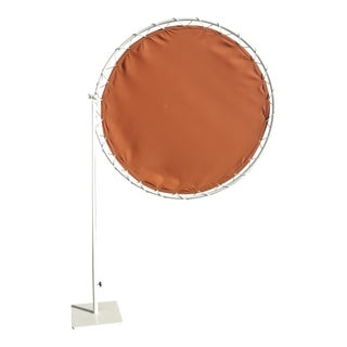 Brown Jordan Mid-Century Modern Sun Shade Umbrella With Base
