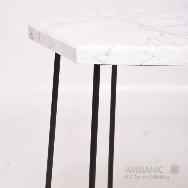 Mid-Century Modern Pair of Mid-Century Modern Side Tables For Sale - Image 3 of 8