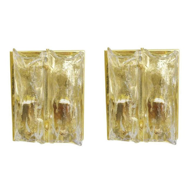 Pair of Textured Sconces by Mazzega For Sale - Image 10 of 10