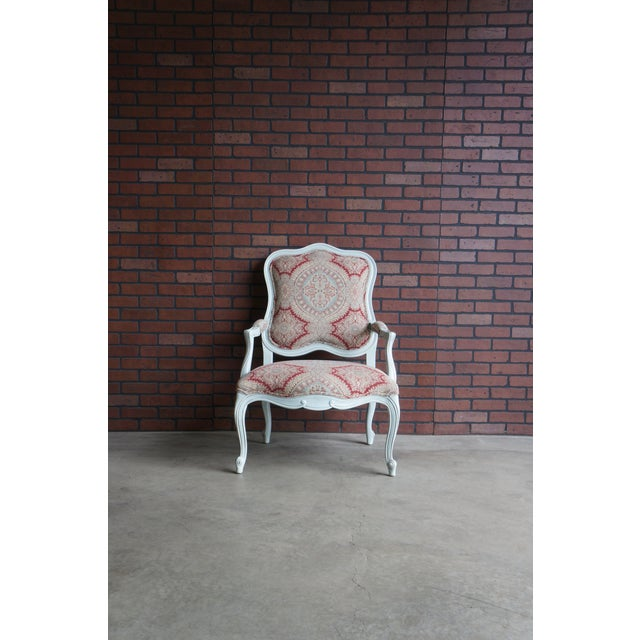 Modern Ethan Allen French Provincial Chantel Accent Chair For Sale - Image 10 of 10