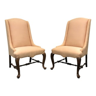 Ethan Allen Traditional Classics Queen Anne Parsons Chairs - Pair For Sale