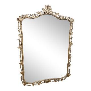 Silver Leaf Florentine Mirror