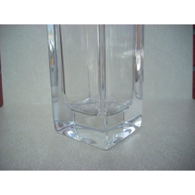 Mikasa Clear Crystal Vase Chairish