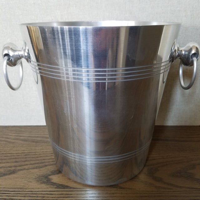 Late 20th Century French Charles Heidsieck Champagne Ice Bucket For Sale - Image 5 of 7