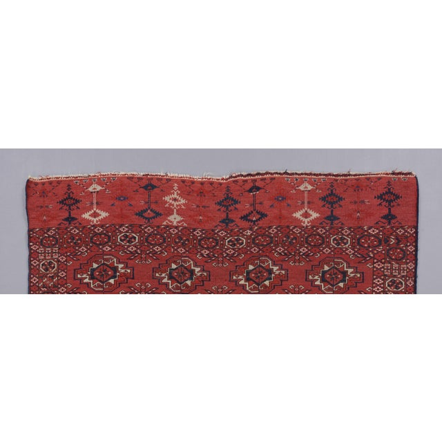 Mid 19th Century Tekke Turkmen Wedding Rug For Sale - Image 4 of 5