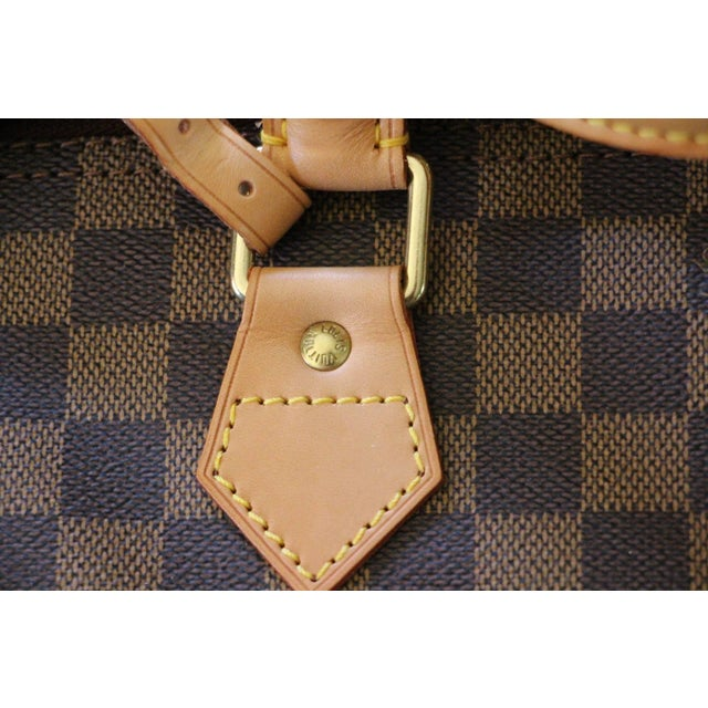 Special Edition Louis Vuitton Travel Bag, Damier Canvas For Sale - Image 10 of 12