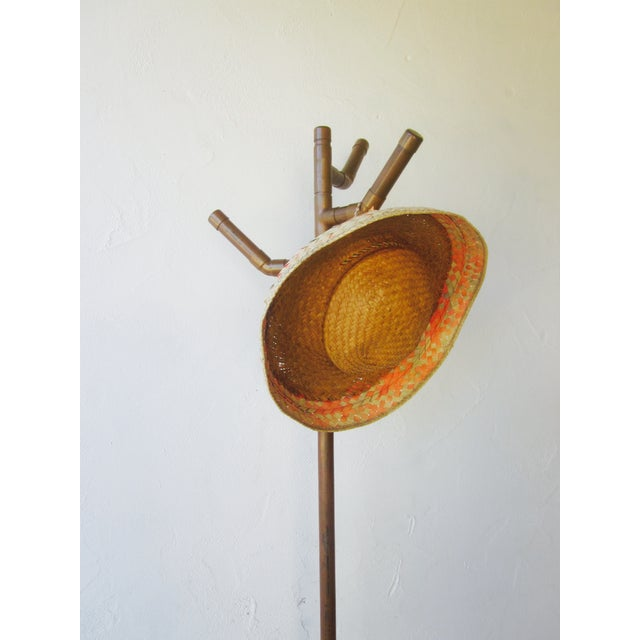 Modernist Copper Coat Rack Hat Tree - Image 8 of 11