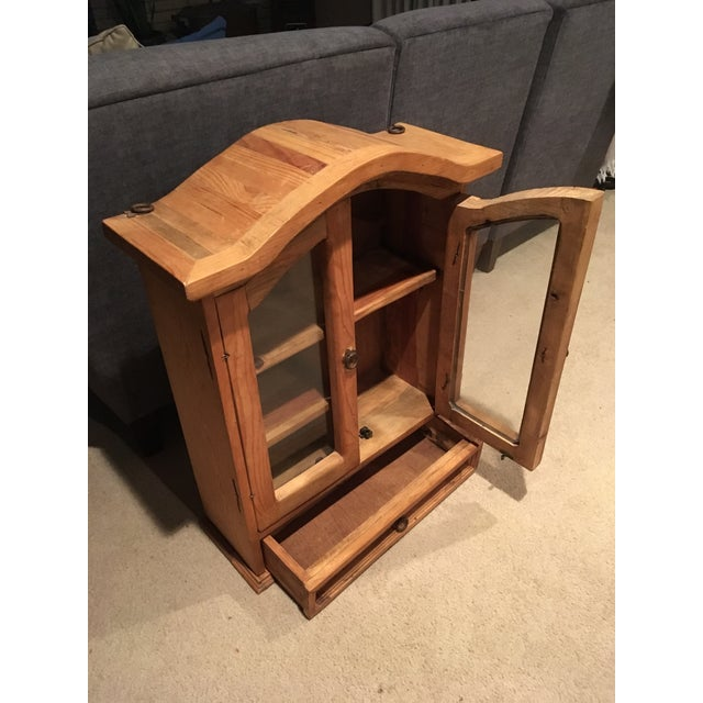 Rustic Rustic Pine Southwestern Cabinet For Sale - Image 3 of 6