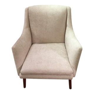 Tove & Edvard Kindt-Larsen for Gustav Bertelsen Newly Upholstered Club Chair For Sale
